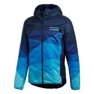 adidas Troy Lee Insulated Jacke Regenjacke Herren Blau