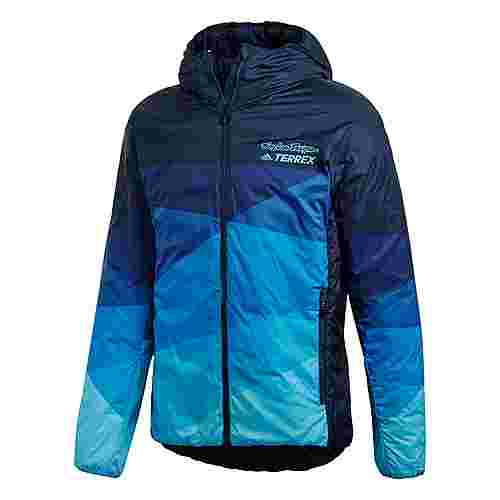 adidas Troy Lee Insulated Jacke Winterjacke Herren Blau