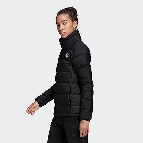Adidas Helionic 3 Streifen Jacke Daunenjacke Damen Schwarz