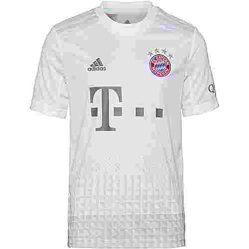 adidas FC Bayern München 19/20 Auswärts Fußballtrikot Kinder white