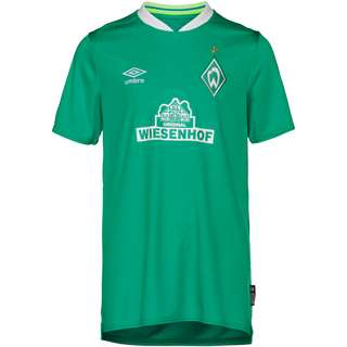 UMBRO Werder Bremen 19/20 Heim Trikot Kinder golf green /brilliant white