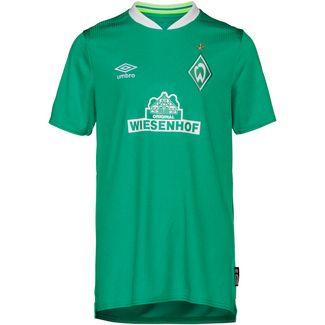 UMBRO Werder Bremen 19/20 Heim Fußballtrikot Kinder golf green /brilliant white