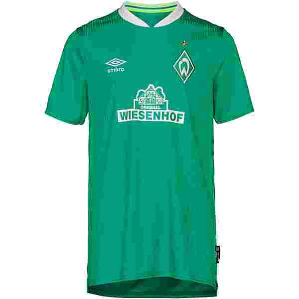UMBRO Werder Bremen 19/20 Heim Trikot Kinder golf green -brilliant white