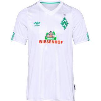 UMBRO Werder Bremen 19/20 Auswärts Fußballtrikot Herren brilliant white / golf green
