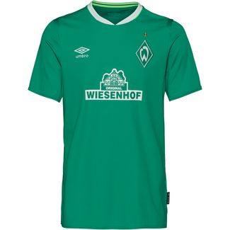 UMBRO Werder Bremen 19/20 Heim Fußballtrikot Herren golf green /brilliant white