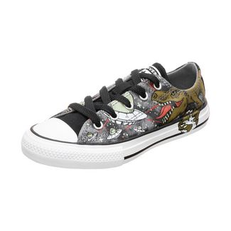 CONVERSE Chuck Taylor All Star Sneaker Kinder grau / oliv