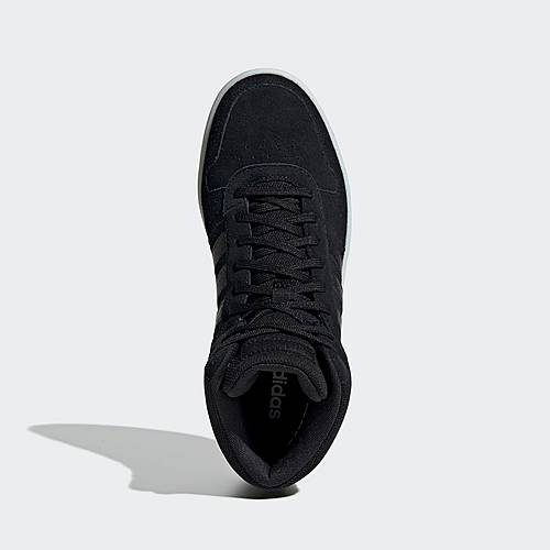 adidas Hoops 2.0 Mid Schuh Sneaker Damen Core Black Core Black Cloud White im Online Shop von SportScheck kaufen