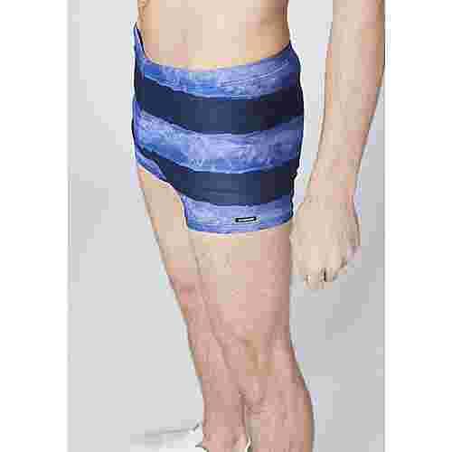 Chiemsee Badehose Badehose Herren Dark Blue/Medium Blue Stripe