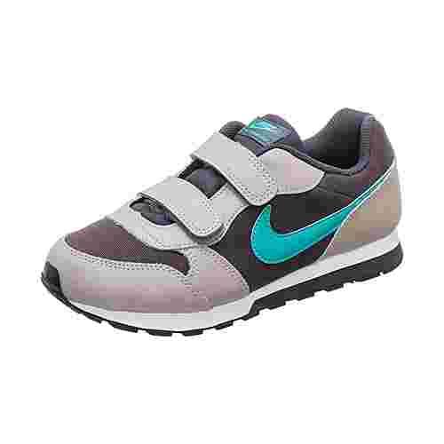 Nike MD Runner 2 Sneaker Kinder grau / türkis