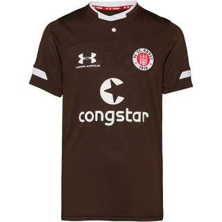 Under Armour FC St. Pauli 19/20 Heim Trikot Kinder timber-white