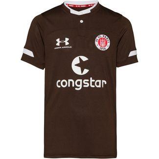 Under Armour FC St. Pauli 19/20 Heim Fußballtrikot Kinder timber-white