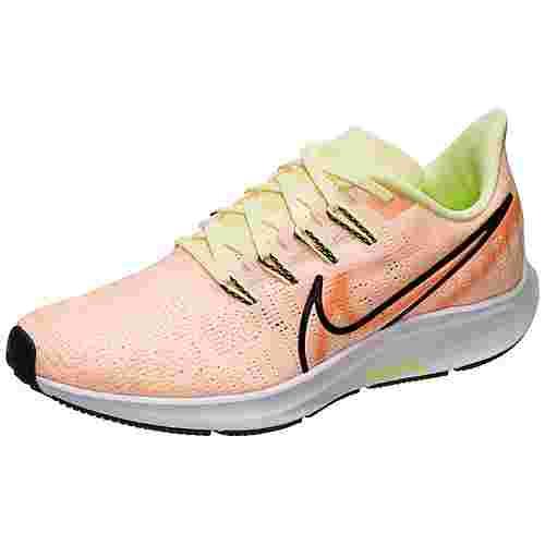 Nike Air Zoom Pegasus 36 Premium Rise Laufschuhe Damen violett / schwarz