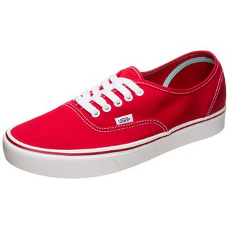 Vans Authentic ComfyCush Sneaker rot / weiß