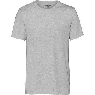 SCHECK T-Shirt Herren hellgrau