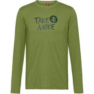 OCK Langarmshirt Herren grün