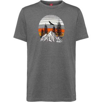 OCK Printshirt Herren grau