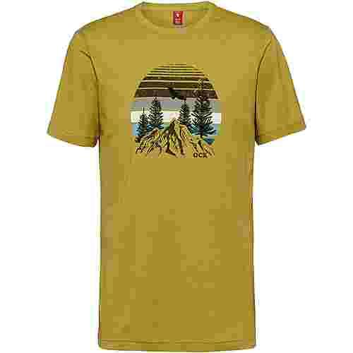 OCK Printshirt Herren grün