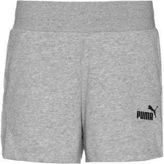 PUMA Shorts Damen light gray heather