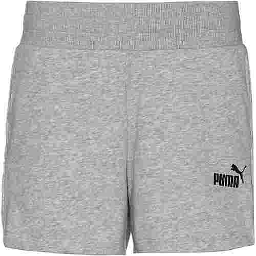 PUMA Shorts Damen light gray heather