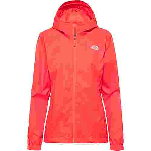 The North Face Quest Hardshelljacke Damen radiant orange