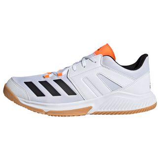 adidas Essence Schuh Sneaker Herren Cloud White / Core Black / Solar Orange