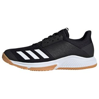 adidas Crazyflight Team Schuh Sneaker Damen Core Black / Cloud White / Gum M1