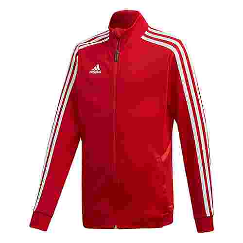 adidas Tiro 19 Trainingsjacke Outdoorjacke Kinder Power Red / Red / White