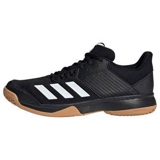 adidas Ligra 6 Schuh Sneaker Damen Core Black / Cloud White / Gum M1