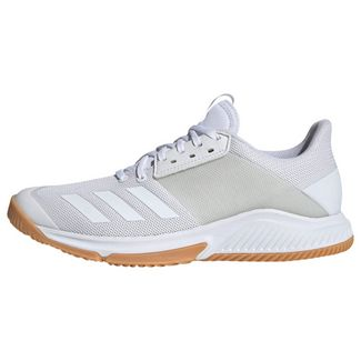 adidas Crazyflight Team Schuh Sneaker Damen Cloud White / Cloud White / Gum M1