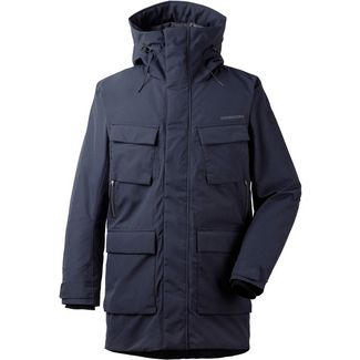 Didriksons 1913 Drew 3 Parka Herren dark night blue