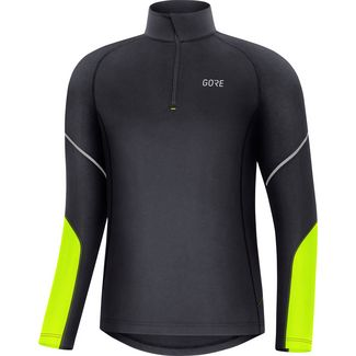 GORE® WEAR Laufshirt Herren black-neon yellow