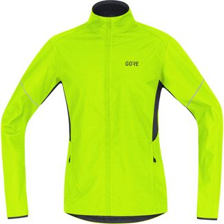 GORE® WEAR R3 Partial GORE® WINDSTOPPER® Laufjacke Herren neon yellow-black