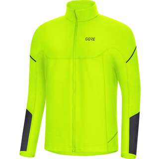 GORE® WEAR M Thermo Laufshirt Herren neon yellow-black