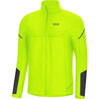 GORE® WEAR M Thermo Laufshirt Herren neon yellow-black