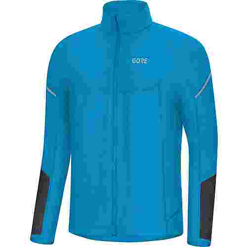 GORE® WEAR M Thermo Laufshirt Herren dynamic cyan-black