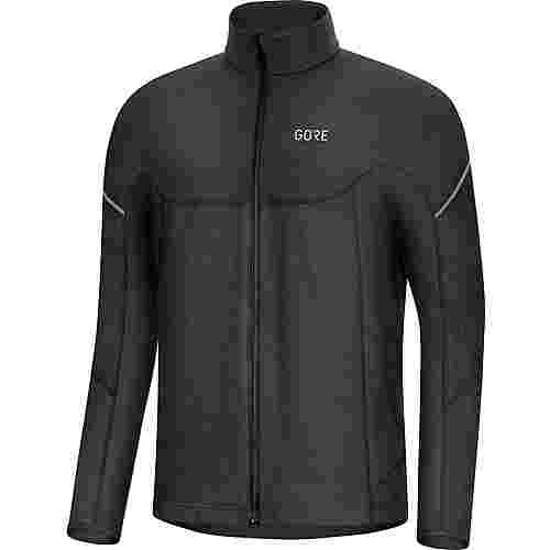 GORE® WEAR M Thermo Laufshirt Herren black
