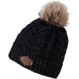Ziener Ibo Hat Bommelmütze Damen black