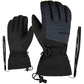 Ziener Gannik AS(R) Glove Ski Alpine Skihandschuhe grey denim