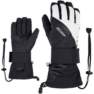 Ziener Milana AS(R) Lady Glove SB Snowboardhandschuhe Damen black-white