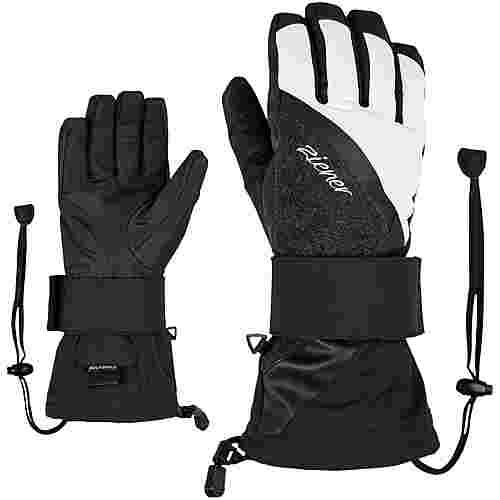 Ziener Milana AS(R) Lady Glove SB Snowboardhandschuhe Damen black-white
