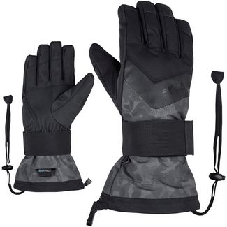 Ziener Milan AS(R) Glove SB Snowboardhandschuhe grey night camo