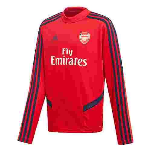 adidas FC Arsenal Top Trainingsoberteil Sweatshirt Kinder Scarlet / Collegiate Navy
