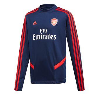 adidas FC Arsenal Top Trainingsoberteil Sweatshirt Kinder Collegiate Navy / Scarlet