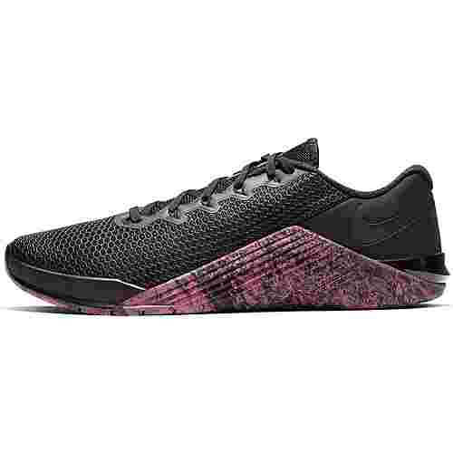 Nike Metcon 5 Fitnessschuhe Herren black-oil grey-sunset pulse-black