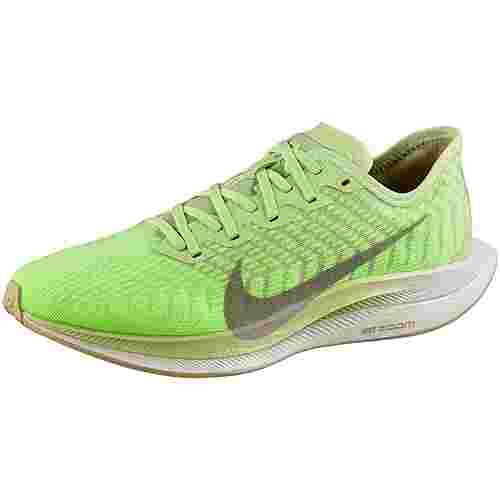 Nike Zoom Pegasus Turbo 2 Laufschuhe Damen lab green-pumice-electric green