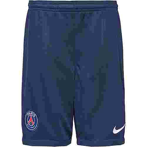 Nike Paris Saint-Germain 19/20 Heim Fußballshorts Kinder midnight navy-white