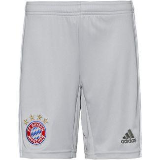 adidas FC Bayern München 19/20 Auswärts Fußballshorts Kinder lgh solid grey