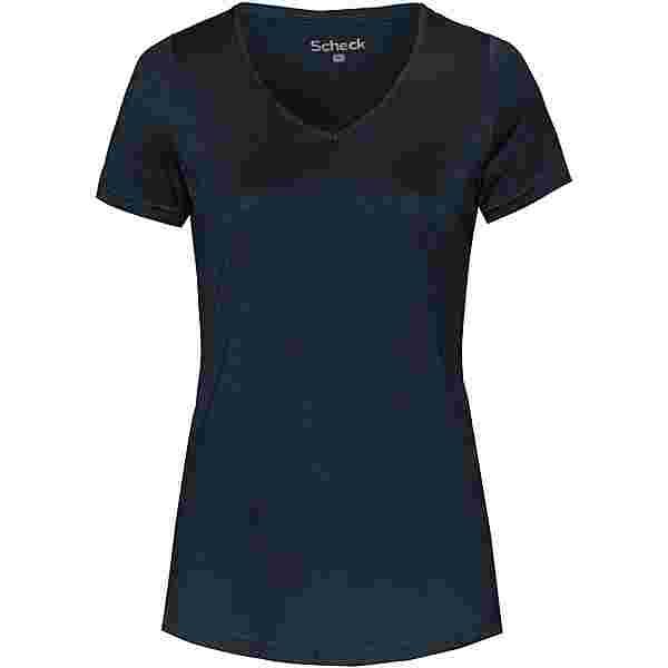 SCHECK T-Shirt Damen navy