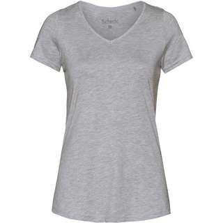 SCHECK T-Shirt Damen hellgrau