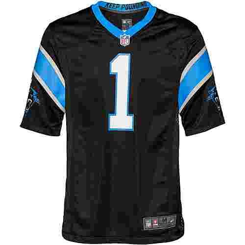 Nike Cam Newton Carolina Panthers American Football Trikot Herren black-tidal blue